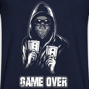 ACAB - GAME OVER Tee shirts - T-shirt Homme col V