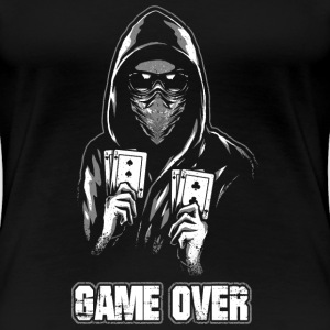 ACAB - GAME OVER T-shirts - Dame premium T-shirt