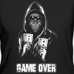 ACAB - GAME OVER T-shirts - Vrouwen Bio-T-shirt