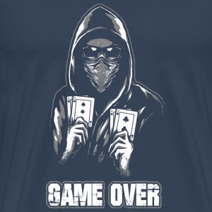 ACAB - GAME OVER T-shirts - Premium-T-shirt herr