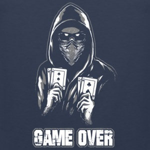ACAB - GAME OVER Vêtements de sport - Débardeur Premium Homme