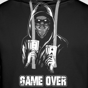 ACAB - GAME OVER Hoodies & Sweatshirts - Men's Premium Hoodie