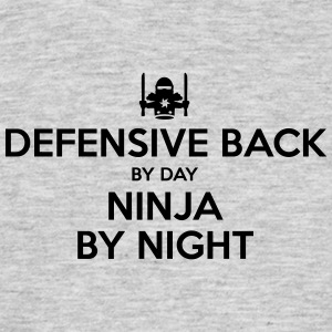 defensive back day ninja by night - Men's T-Shirt