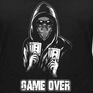 ACAB - GAME OVER T-Shirts - Women's V-Neck T-Shirt