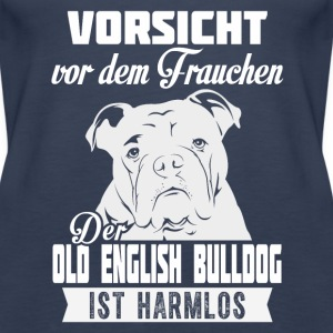 OLD ENGLISH BULLDOG Tops - Frauen Premium Tank Top