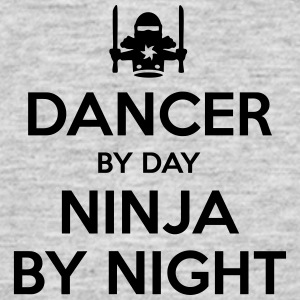 dancer day ninja by night - Men's T-Shirt