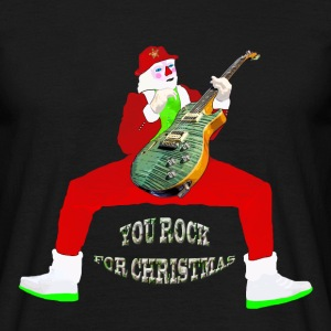 you rock for christmas Tee shirts - T-shirt Homme