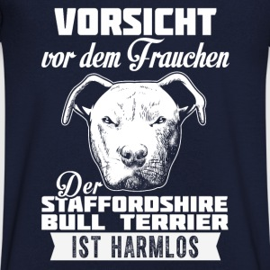 Staffordshire Bull Terrier Tee shirts - T-shirt Homme col V