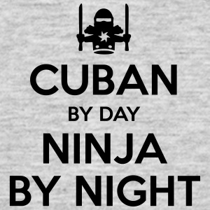 cuban day ninja by night - Men's T-Shirt