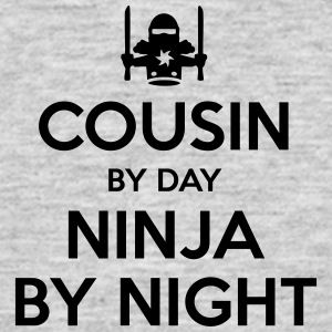 cousin day ninja by night - Men's T-Shirt