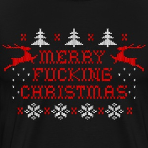 Merry Fucking Christmas T-Shirts - Men's Premium T-Shirt