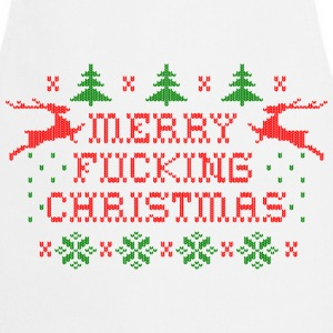 Merry Fucking Christmas  Aprons - Cooking Apron