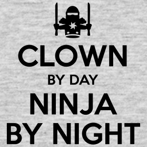 clown day ninja by night - Men's T-Shirt