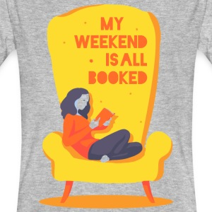 My weekend is all booked Tee shirts - T-shirt bio Homme