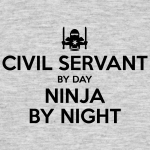 civil servant day ninja by night - Men's T-Shirt