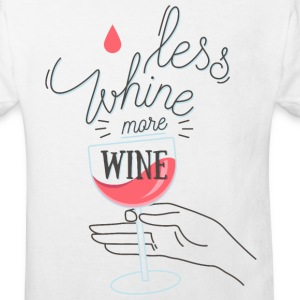 Less Whine more Wine Tee shirts - T-shirt Bio Enfant