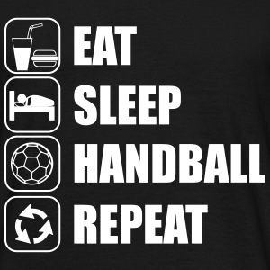 Eat,sleep,handball,repeat - Men's T-Shirt