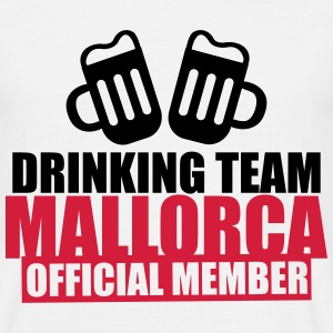 Mallorca Drinking Team - Men's T-Shirt