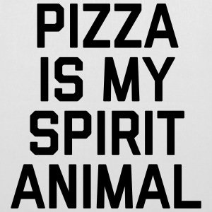 Pizza Spirit Animal Funny Quote Bags & Backpacks - Tote Bag
