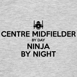 centre midfielder day ninja by night - Men's T-Shirt