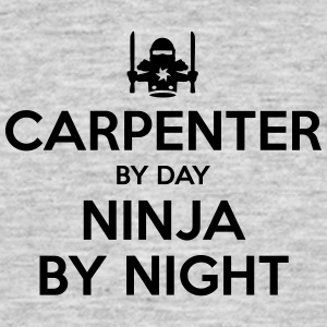 carpenter day ninja by night - Men's T-Shirt