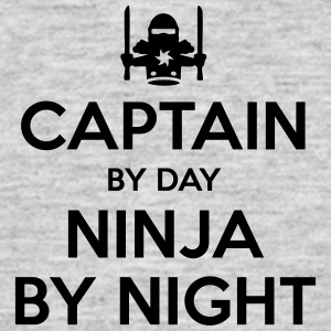captain day ninja by night - Men's T-Shirt