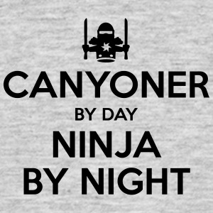 canyoner day ninja by night - Men's T-Shirt