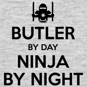 butler day ninja by night - Men's T-Shirt