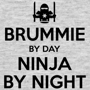 brummie day ninja by night - Men's T-Shirt