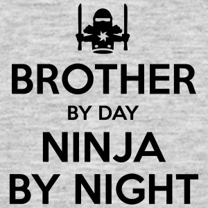 brother day ninja by night - Men's T-Shirt