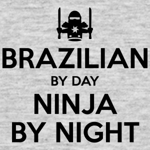brazilian day ninja by night - Men's T-Shirt