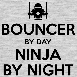bouncer day ninja by night - Men's T-Shirt