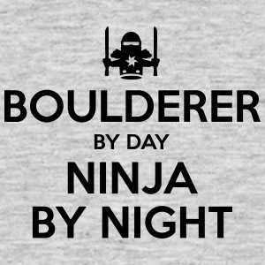 boulderer day ninja by night - Men's T-Shirt