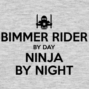 bimmer rider day ninja by night - Men's T-Shirt