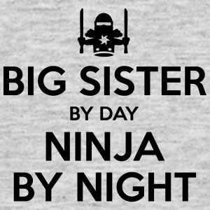 big sister day ninja by night - Men's T-Shirt