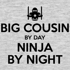 big cousin day ninja by night - Men's T-Shirt