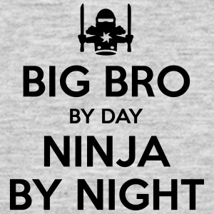 big bro day ninja by night - Men's T-Shirt