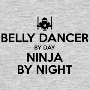belly dancer day ninja by night - Men's T-Shirt