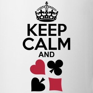 Keep Calm and Poker Tassen & Zubehör - Tasse