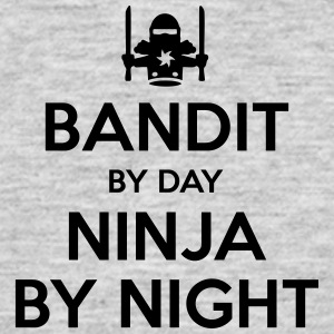 bandit day ninja by night - Men's T-Shirt