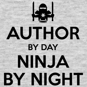 author day ninja by night - Men's T-Shirt
