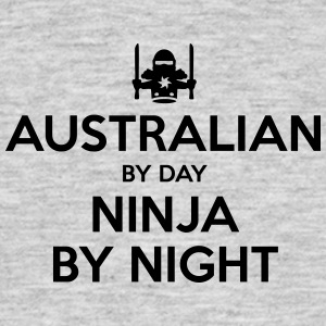 australian day ninja by night - Men's T-Shirt