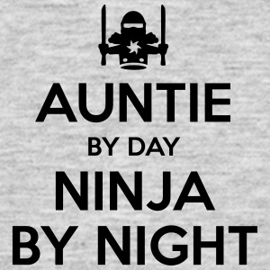 auntie day ninja by night - Men's T-Shirt