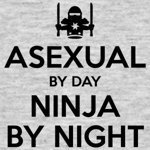 asexual day ninja by night - Men's T-Shirt