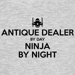 antique dealer day ninja by night - Men's T-Shirt