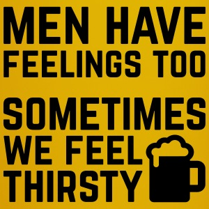 Men Have Feelings Funny Quote Mugs & Drinkware - Full Colour Mug