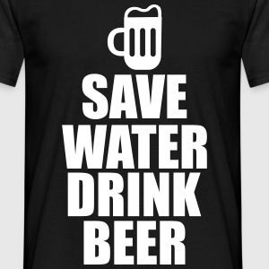 Save water drink beer  - Camiseta hombre