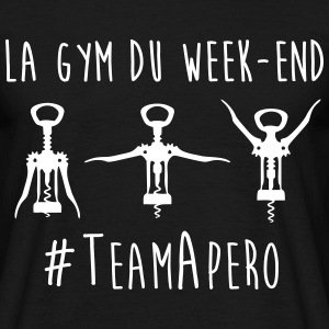 La gym du week-end humour citations  - T-shirt Homme