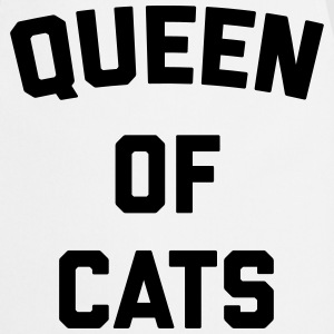 Queen Of Cats Funny Quote  Aprons - Cooking Apron