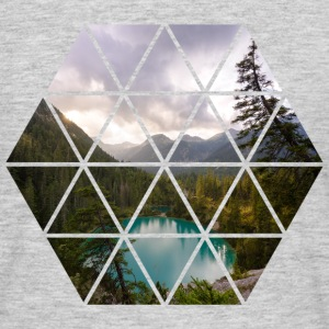 Landscape Triangles - Männer T-Shirt
